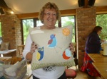 Jackie's Appliqued Cushion