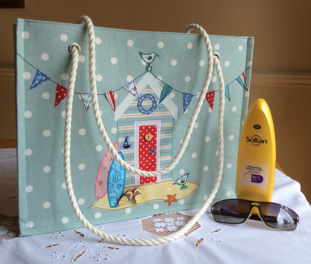 Jane Lightfoot Designs Appliqued Beach Bag