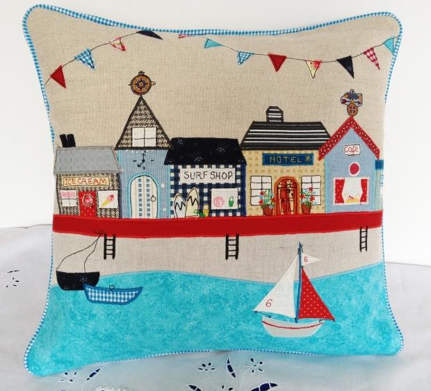 Looking forward to Summer cushion