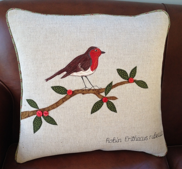 Ronin Cushion by Jane Lightfoot Designs