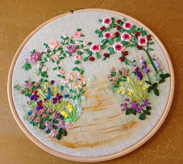 Hoop Art 'Country Garden'