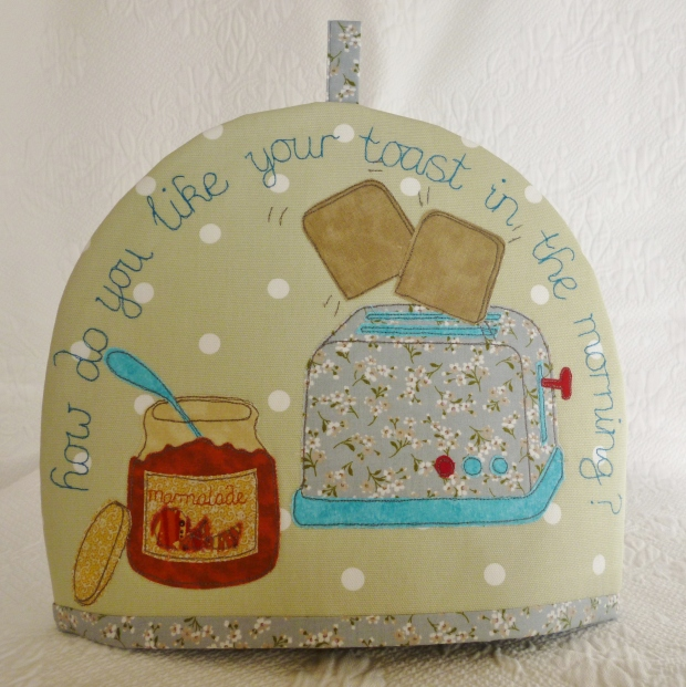 How do you like your toast in the morning? Tea Cosy