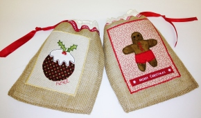 Mini Christmas Sacks