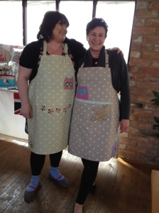 Ali and Lind's Aprons