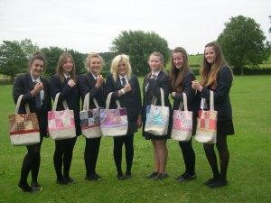 GCSE Textile Students