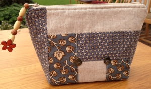 Liz's Patchwork Cosmetic Purse