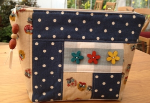 Maddi's Patchwork Cosmetics Purse