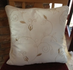 Trish's piped cushion