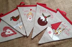 Jane's Christmas Bunting