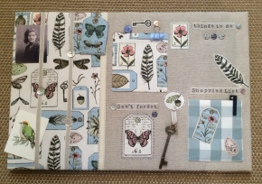 Jane Lightfoot Designs Appliqued Noticeboard Workshop