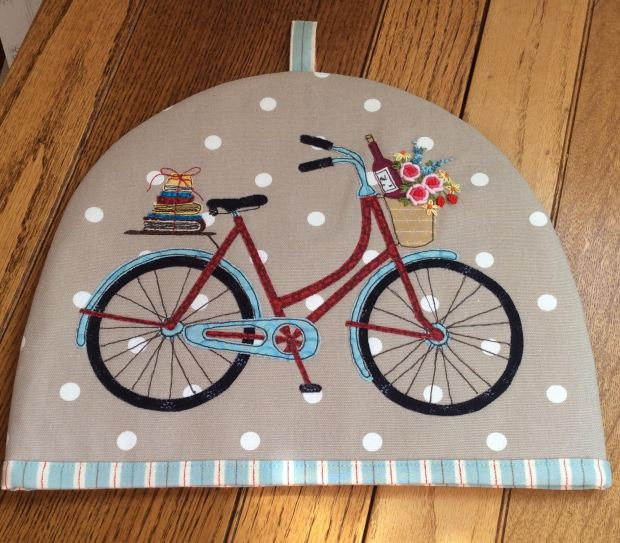bicycle tea cosy