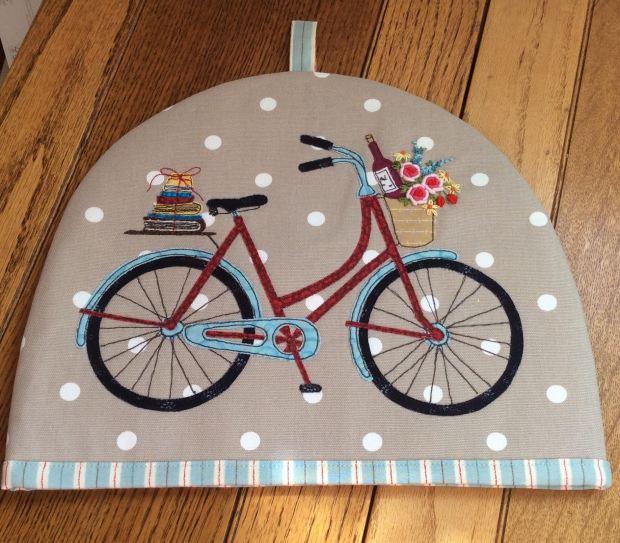 bicycle tea cosy